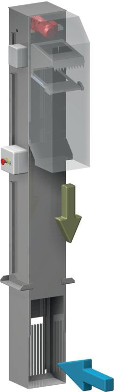 Reja Automatica de Desbaste SG400