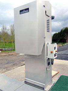 Reja automatica para colectores de aguas pluviales