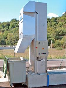 Reja automatica para estaciones de descarga